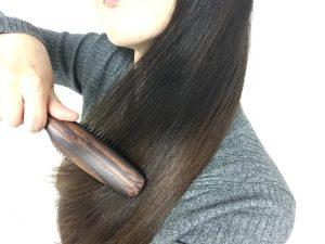 髪にツヤツヤにするSANBIヘアブラシL301