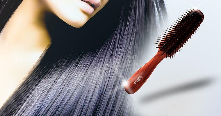 毎日使いたいおすすめのヘアブラシ、サンビーL301でブラッシングその効果