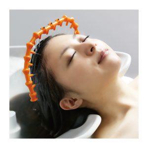 頭皮用の設置型循環器シャワー