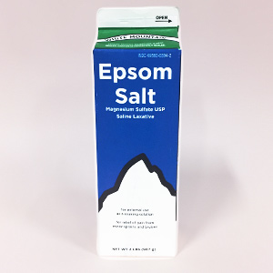 ハリウッドで人気の入浴剤エプソムソルト
