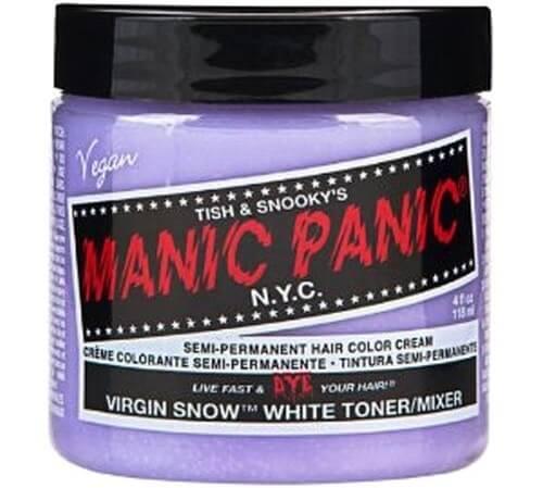 マニックパニック マニックパニックヘアカラー ヴァージンスノー 118ml