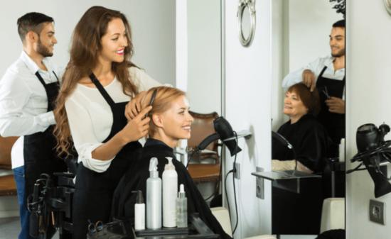 美容師 名刺