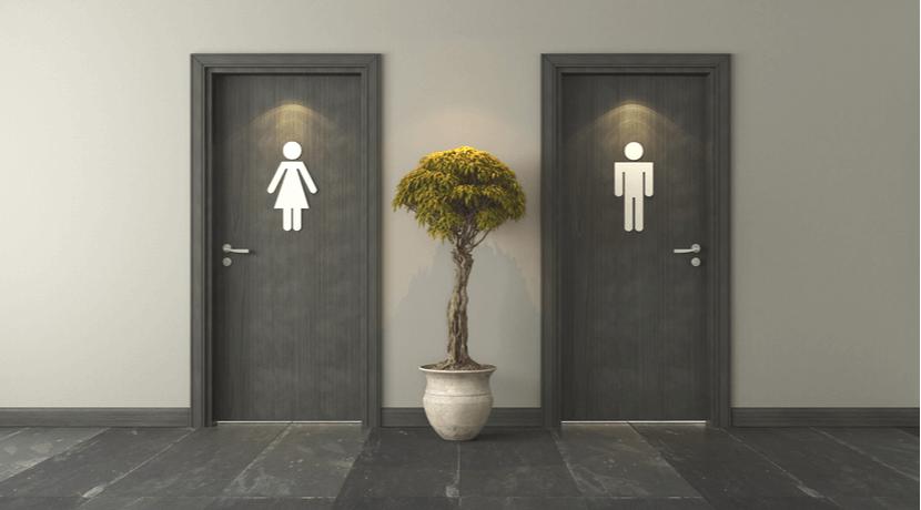 美容室 トイレ
