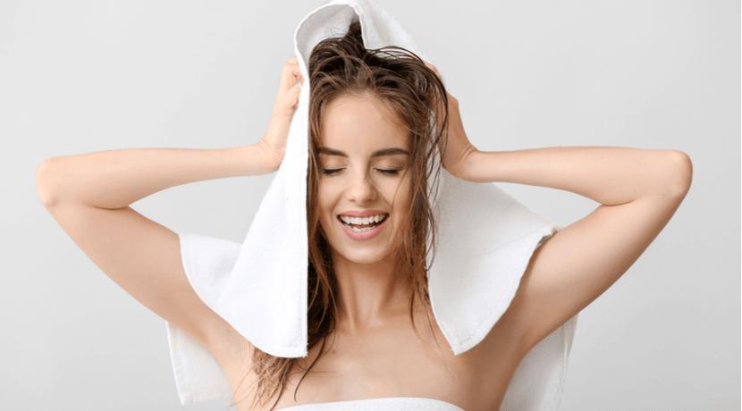 髪の乾かし方の基本